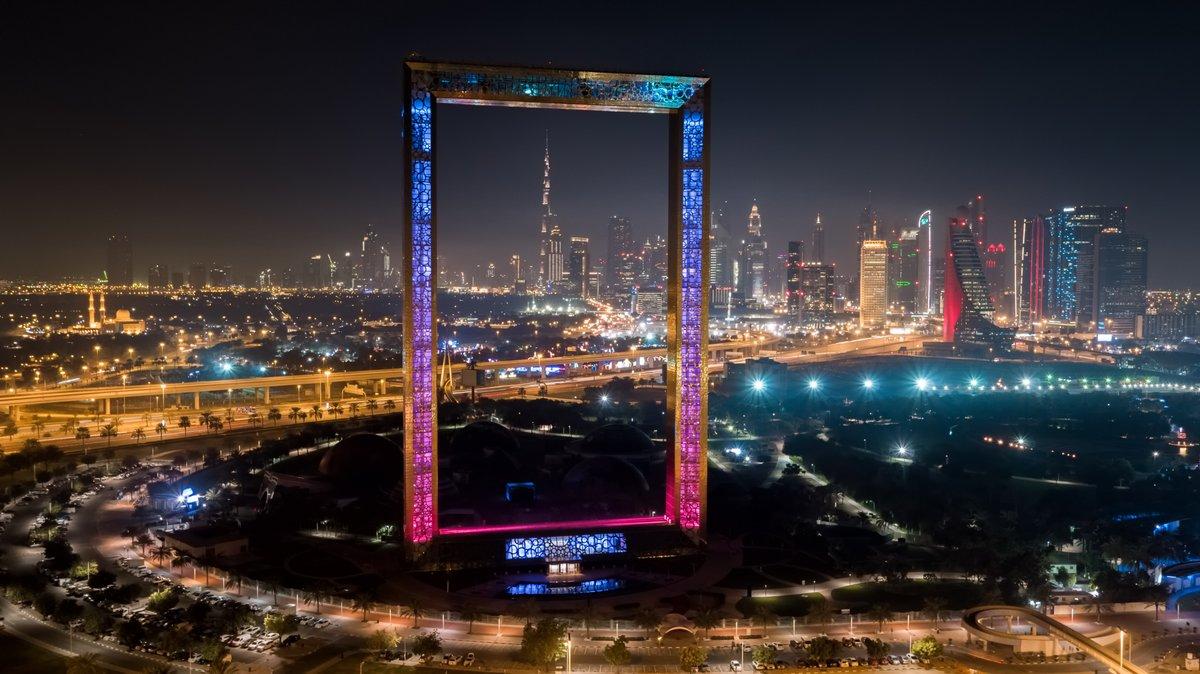Dubai Frame and Zabeel Park