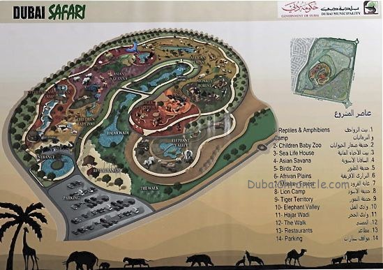 The World Anew At The Dubai Safari Park